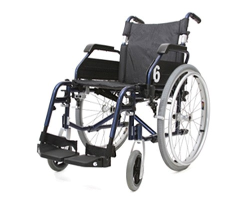 "Deluxe Manual Wheelchair 18"" Rental 