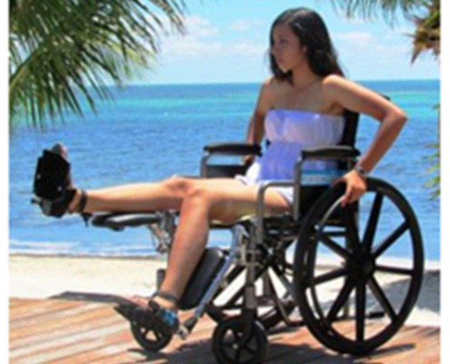 Elevated Legs Elevating Leg Rest Wheelchair